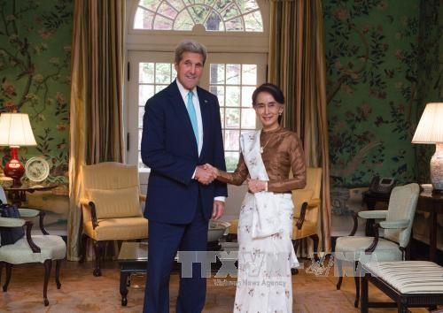 美国决定取消对缅甸制裁 - ảnh 1