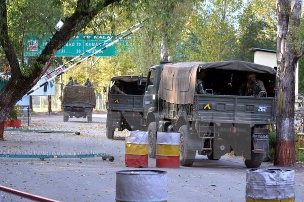 印度宣布挫败恐怖分子的图谋 - ảnh 1