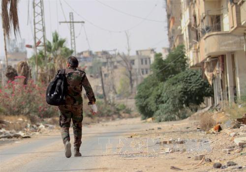 """叙利亚政府军夺回""""伊斯兰国""""组织掌控的地区 - ảnh 1"""
