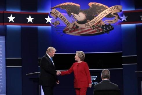 直接辩论——美国总统选举中选民决定投票给谁的时刻 - ảnh 1