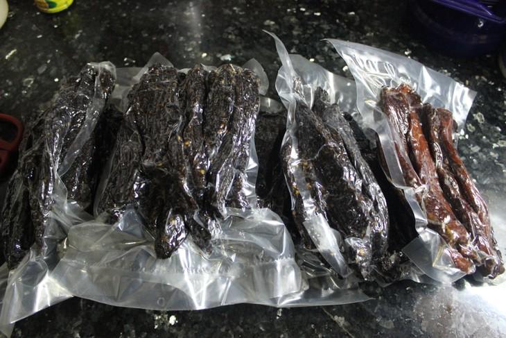 肉干——山萝省居民的致富产业 - ảnh 3