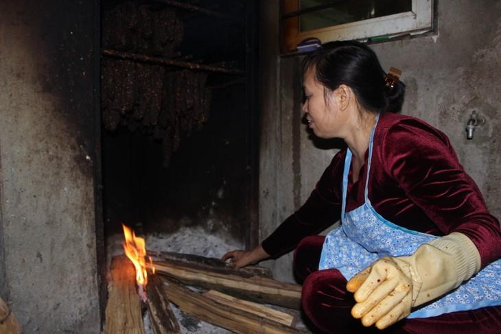 肉干——山萝省居民的致富产业 - ảnh 2