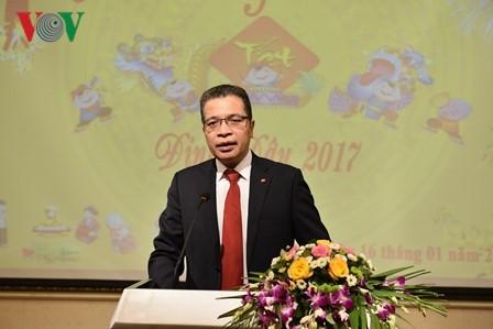 越南驻华大使馆举行2017年丁酉春节见面会 - ảnh 1