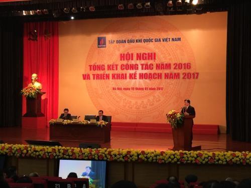 郑庭勇出席越南石油天然气集团2016年工作总结会议 - ảnh 1