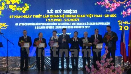 纪念越南与捷克建交67周年 - ảnh 1