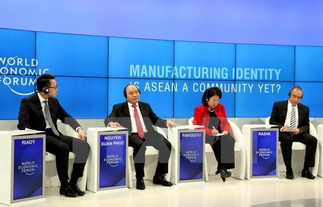 越南努力同东盟成员国建设强大的东盟共同体 - ảnh 1