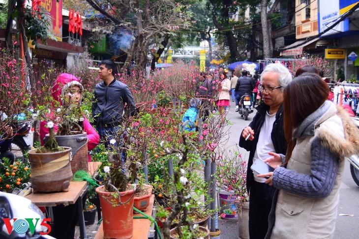 河内古街的迎春气氛 - ảnh 6