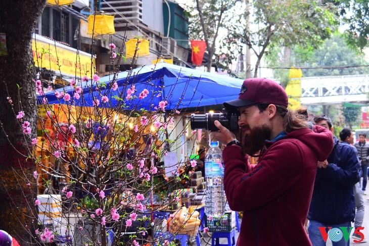 河内古街的迎春气氛 - ảnh 7