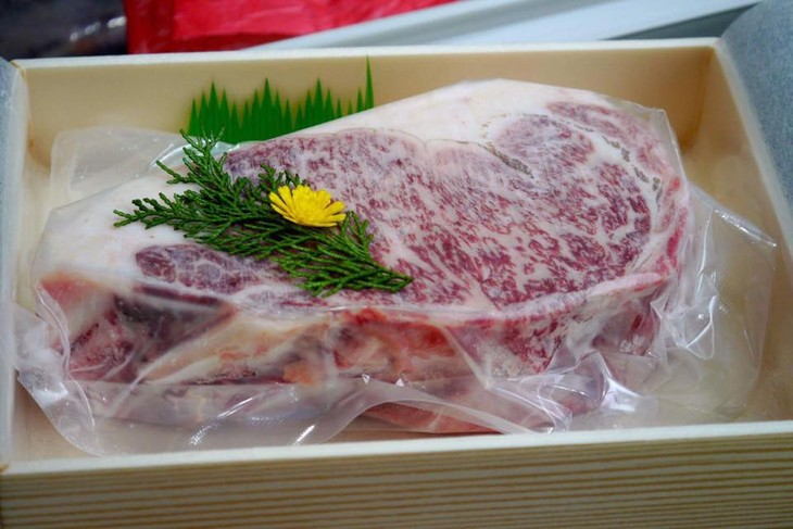 日本神户牛肉进军越南市场 - ảnh 1