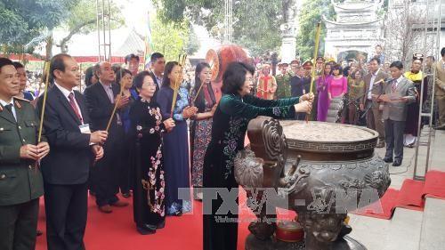邓氏玉盛出席二征夫人起义1977周年纪念活动 - ảnh 1