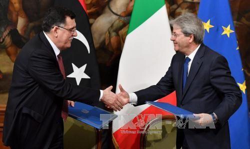 意大利和利比亚达成防止移民潮涌入协议 - ảnh 1