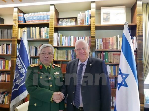 越南国防部副部长阮志咏访问以色列 - ảnh 1