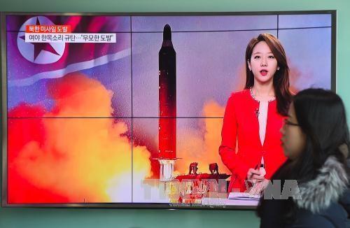 国际舆论对朝鲜试射弹道导弹做出反应 - ảnh 1