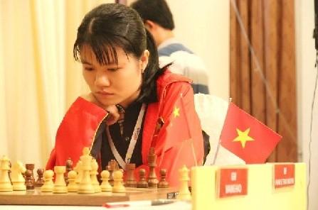 范黎草原晋级2017年国际象棋女子世锦赛第三轮 - ảnh 1