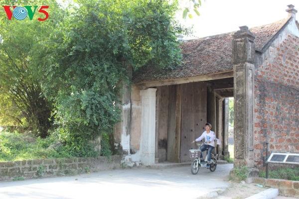 越南北部平原乡村的特征 - ảnh 1