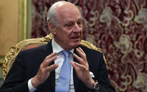联合国对叙利亚和谈保持慎重 - ảnh 1
