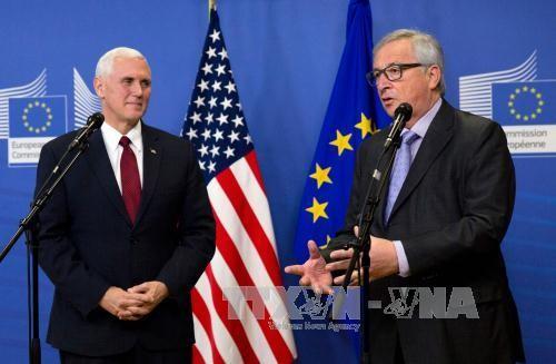 """美国副总统彭斯就同盟关系给欧盟送上一粒""""定心丸"""" - ảnh 1"""