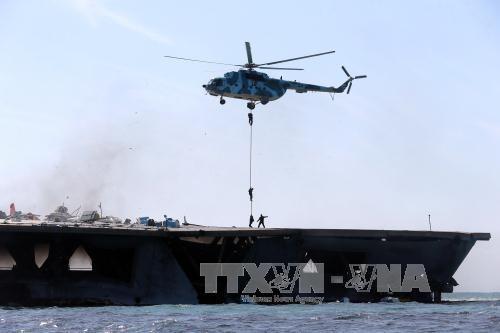 伊朗海军举行年度军事演习 - ảnh 1