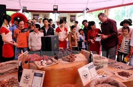 越南出席2017年亚洲最大国际咖啡与茶业展 - ảnh 1