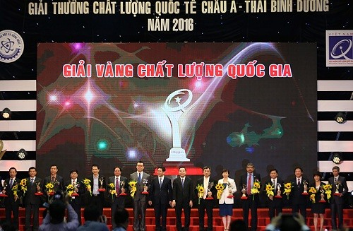 越南政府副总理武德担出席国家质量奖颁奖仪式 - ảnh 1