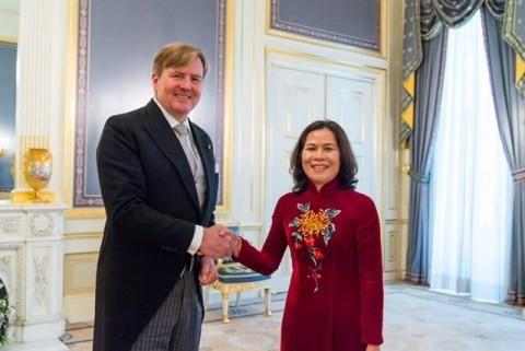 越南驻荷兰大使吴氏和访问鹿特丹市 - ảnh 1