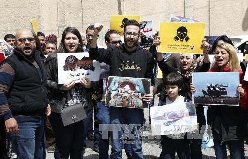 世界在解决叙利亚政治危机上出现分裂 - ảnh 1