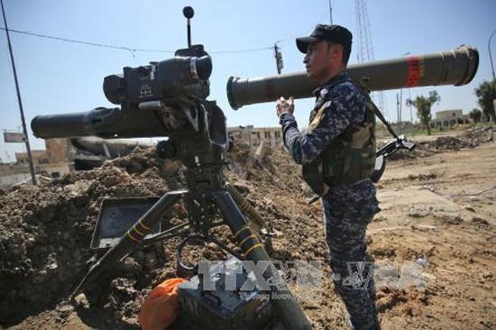 伊拉克军队在摩苏尔西区解放了更多地区 - ảnh 1