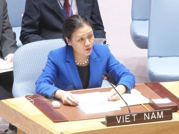 越南呼吁寻找结束以巴冲突及叙利亚内战的和平方案 - ảnh 1
