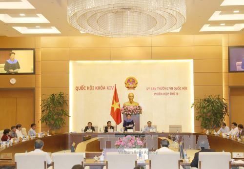 越南国会常委会第9次会议闭幕 - ảnh 1