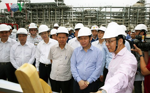 王庭惠:宜山炼油厂要确保投产后环境安全 - ảnh 1