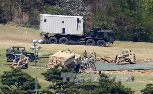 """中国宣布进行新型武器装备作战检验应对美国部署""""萨德"""" - ảnh 1"""