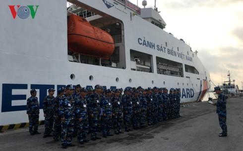 越南海警8004号船访问中国 - ảnh 1