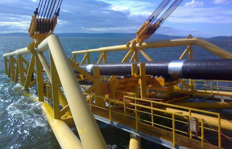 """俄罗斯开始实施""""土耳其流""""天然气管道项目的海底工程建设 - ảnh 1"""