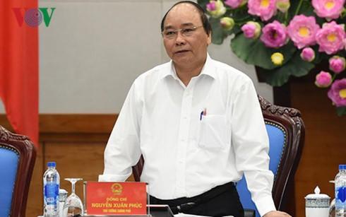 阮春福将主持政府与企业同行会议 - ảnh 1
