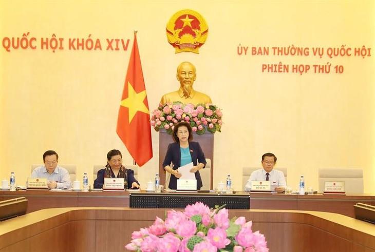 越南国会常务委员会第十次会议举行 - ảnh 1