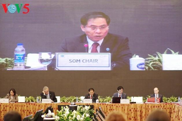 亚太经合组织第二次高官会通过多项关键合作倡议和内容 - ảnh 1