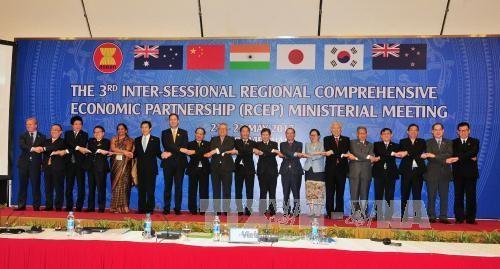 推动RCEP成员国的商品贸易、服务与投资流动 - ảnh 1