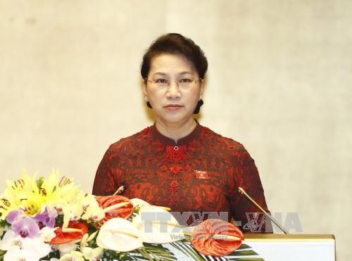 越南第14届国会第3次会议在河内开幕 - ảnh 1