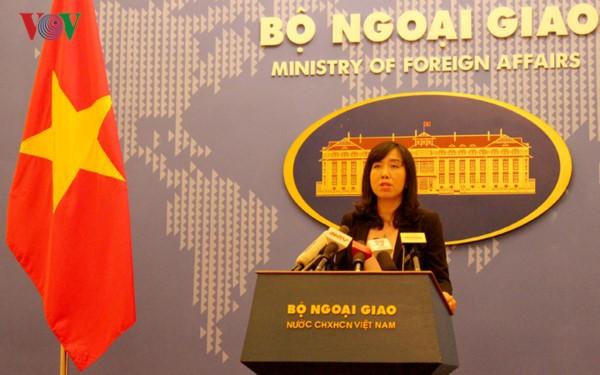 越南外交部发言人黎氏秋姮就多国袭击事件和阮春福访美答记者问 - ảnh 1