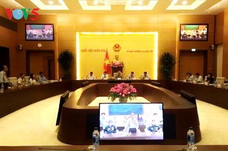 越南国会副主席王朱刘会见河静省为国立功者代表团 - ảnh 1