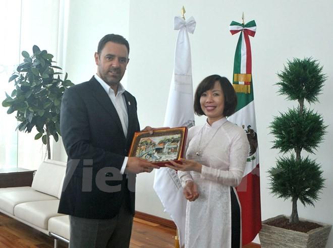 墨西哥萨卡特卡斯州希望与越南加强合作 - ảnh 1
