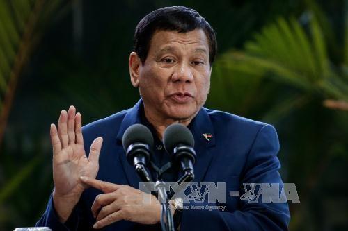 菲律宾总统杜特尔特呼吁反对派参与打击IS行动 - ảnh 1