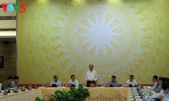 陈大光出席2017 APEC系列会议国家筹备委员会第8次全体会议 - ảnh 1