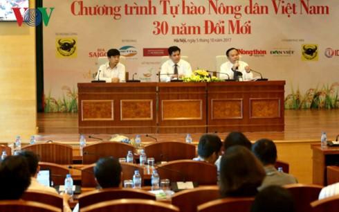 表彰革新30年间越南63名优秀农民和24名农民典型 - ảnh 1