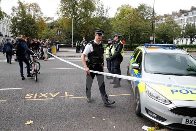 英国释放伦敦汽车撞人事故的嫌疑人 - ảnh 1