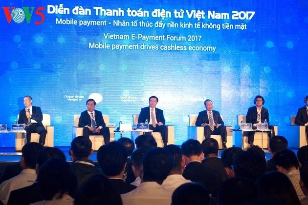 越南政府为促进越南移动支付方式发展创造便利条件 - ảnh 1