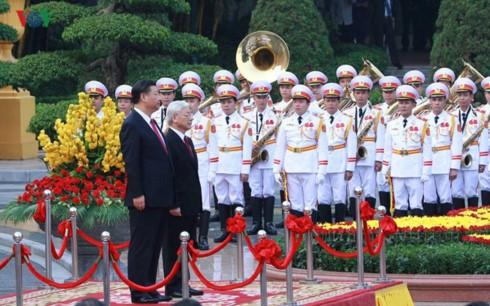 越南和中国发表联合声明 - ảnh 1