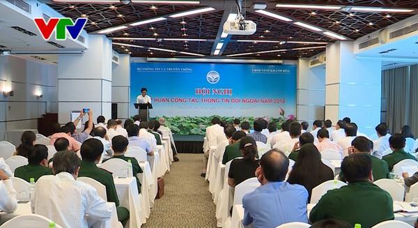主动开展对外信息工作发展经济稳定社会 - ảnh 1