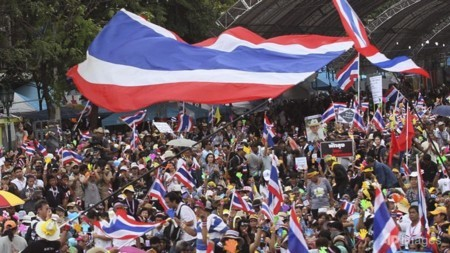 Anti-government protests in Bangkok - ảnh 1