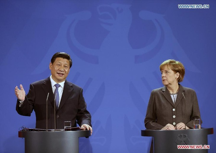 Germany and China issue joint statement on comprehensive strategic partnership - ảnh 1